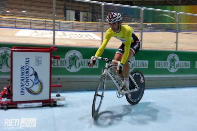 Cristian Bianchetti campione italiano su pista a Montichiari
